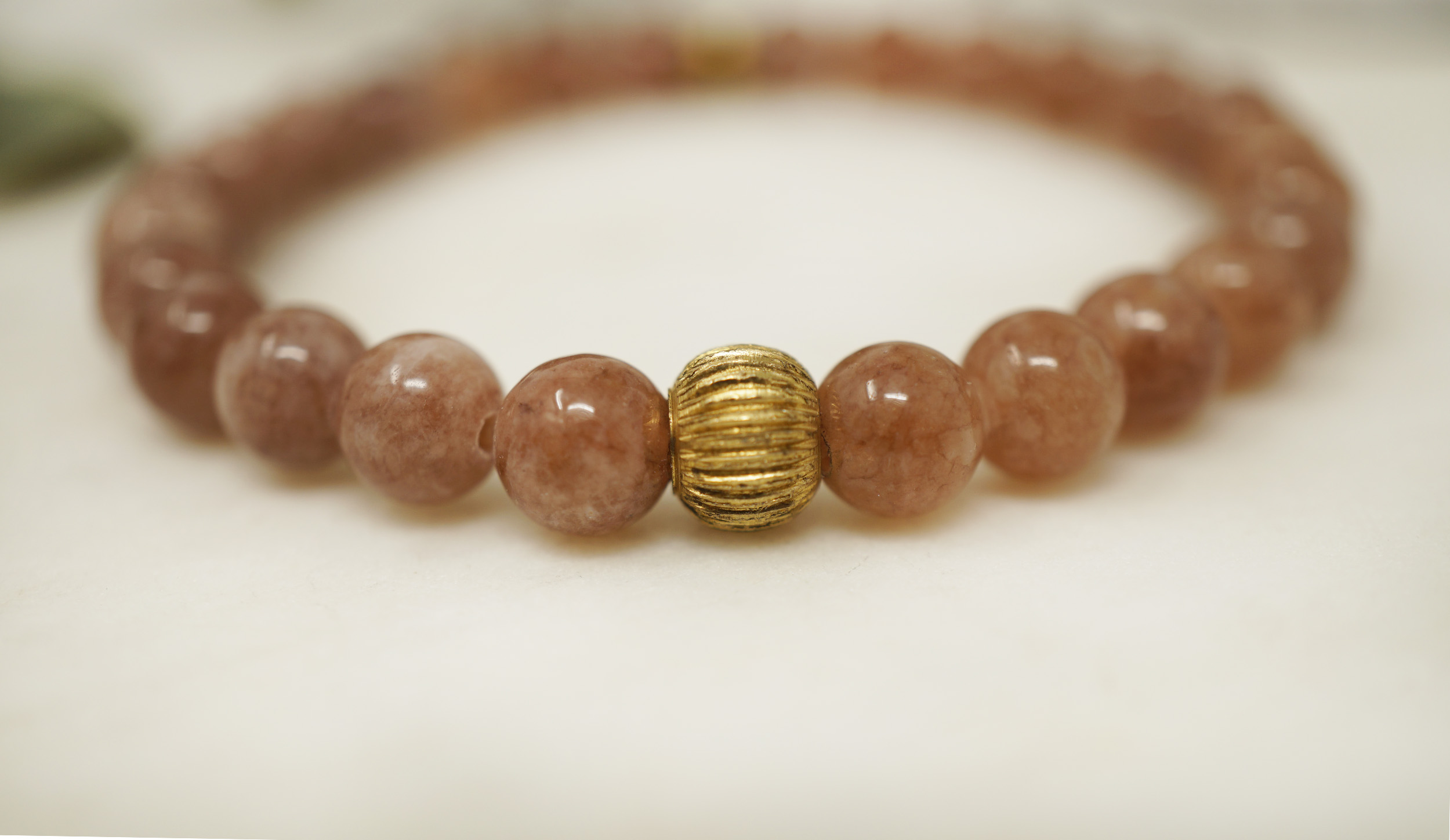 sunstone vintage bracelet