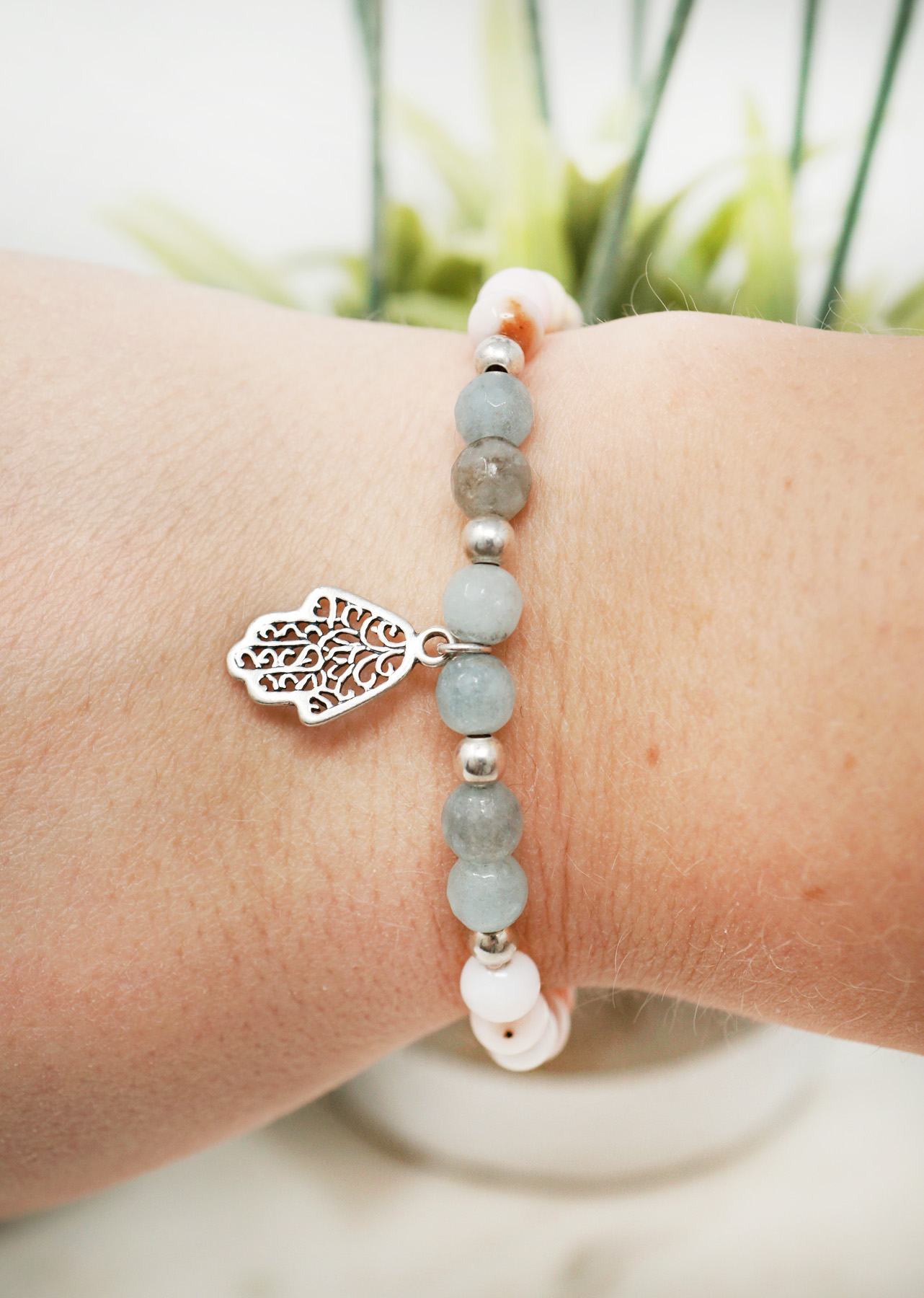 hamsa hand aquamarine bracelet0